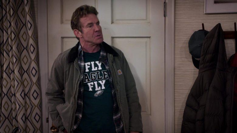 Carhartt Jacket Worn by Dennis Quaid as Don Quinn in Merry Happy Whatever Season 1 Episode 3 (1)