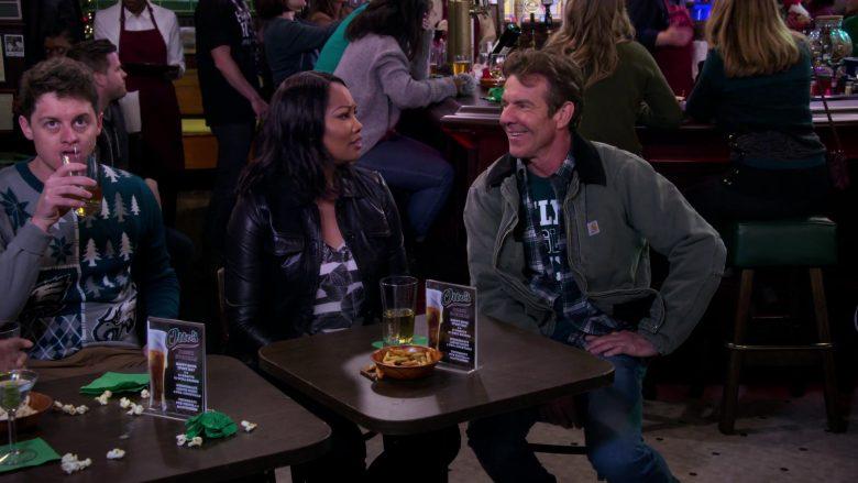 Carhartt Jacket Worn by Dennis Quaid as Don Quinn in Merry Happy Whatever Season 1 Episode 3 (2)