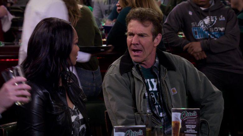 Carhartt Jacket Worn by Dennis Quaid as Don Quinn in Merry Happy Whatever Season 1 Episode 3 (3)