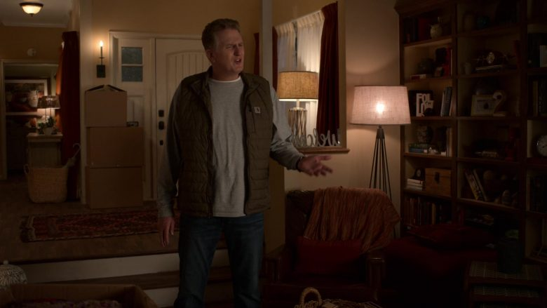 Carhartt Vest Worn by Michael Rapaport as Doug Gardner in Atypical Season 3 Episode 4 (1)