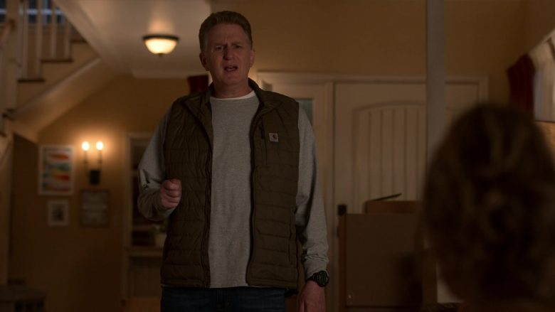 Carhartt Vest Worn by Michael Rapaport as Doug Gardner in Atypical Season 3 Episode 4 (2)