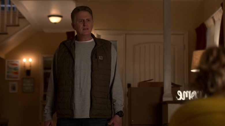 Carhartt Vest Worn by Michael Rapaport as Doug Gardner in Atypical Season 3 Episode 4 (3)