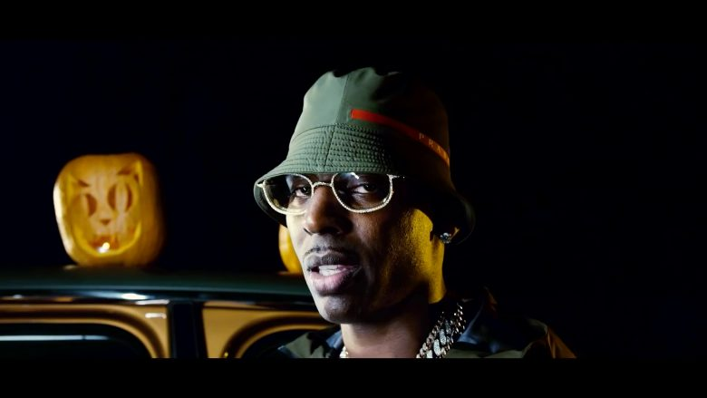 Chanel Eyeglasses Worn by Young Dolph in Tric Or Treat (2019) - Official Music Video Product Placement