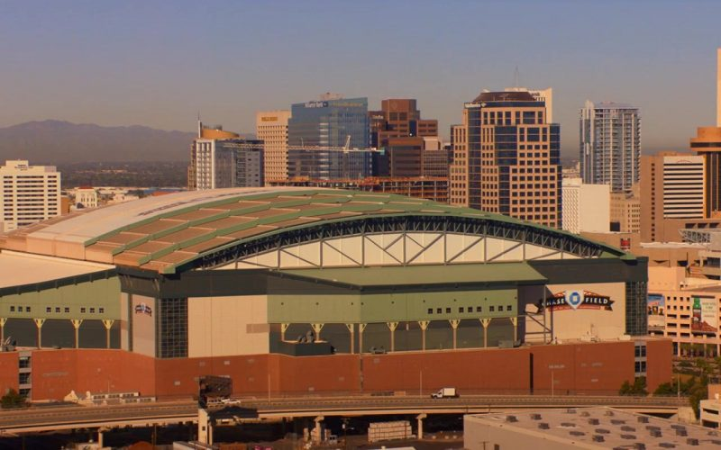 Chase Field Stadium in Noelle (2019)
