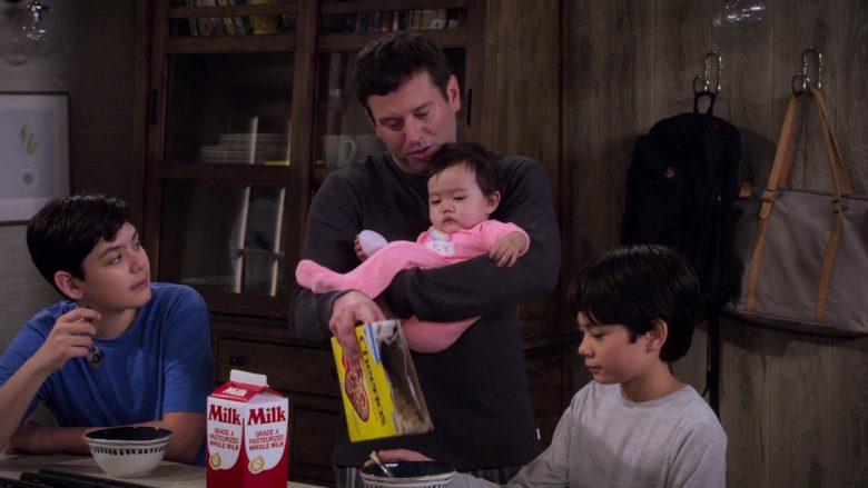 "Cheerios Cereal in Merry Happy Whatever Season 1 Episode 7 ""Christmas Break"" (2019) TV Show"