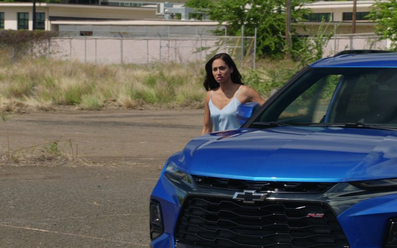 Chevrolet Blazer RS Blue Car in Hawaii Five-0 Season 10 Episode 8