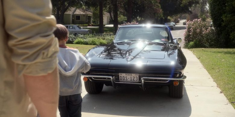 """Chevrolet Corvette Black Car Used by Chris Bauer as Deke Slayton in For All Mankind  Season 1 Episode 4 """"Prime Crew"""" (2019) - TV Show Product Placement"""