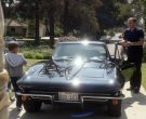 Chevrolet Corvette Black Car Used by Chris Bauer as Deke Slayton in For All Mankind Season 1 Episode 4 (2)