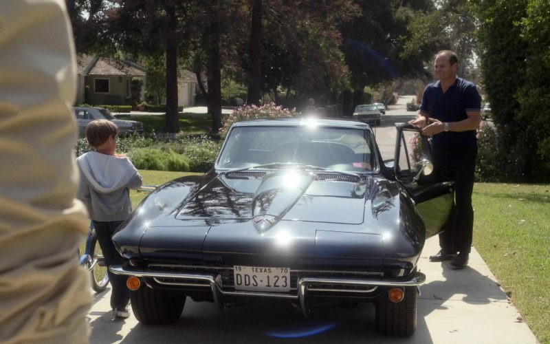 Chevrolet Corvette Black Car Used by Chris Bauer as Deke Slayton in For All Mankind Season 1 Episode 4 (2)