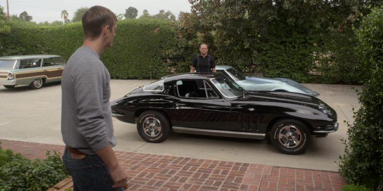 Chevrolet Corvette Black Car in For All Mankind Season 1 Episode 2 (2)