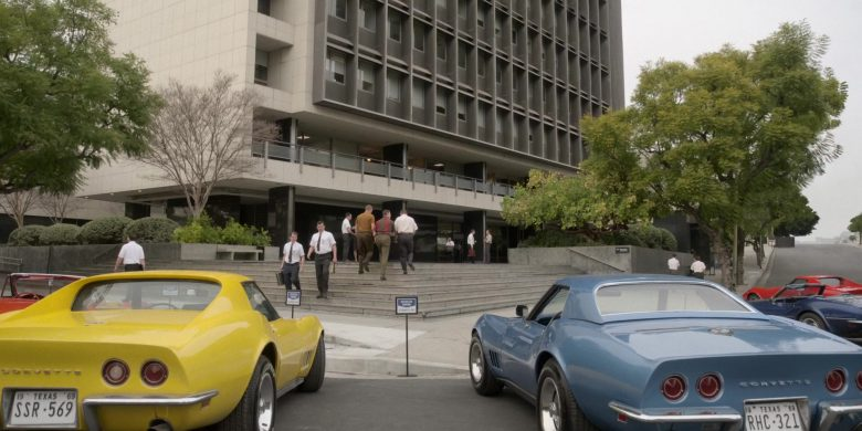 "Chevrolet Corvette Yellow and Blue Cars in For All Mankind Season 1 Episode 3 ""Nixon's Women"" (2019) - TV Show Product Placement"