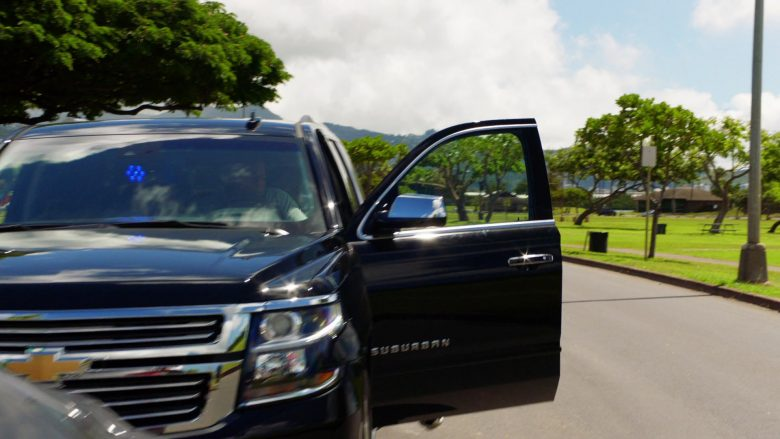 Chevrolet Suburban SUV in Hawaii Five-0 Season 10 Episode 8 (2019) - TV Show Product Placement
