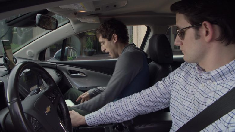 Chevrolet Volt Car Used by Zach Woods as Jared in Silicon Valley Season 6 Episode 3 (2)