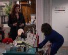 Christian Louboutin Pink Handbag Used by Megan Mullally in Will & Grace Season 11 Episode 3 (3)