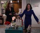 Christian Louboutin Pink Handbag Used by Megan Mullally in Will & Grace Season 11 Episode 3 (5)