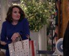 Christian Louboutin Pink Handbag Used by Megan Mullally in Will & Grace Season 11 Episode 3 (8)