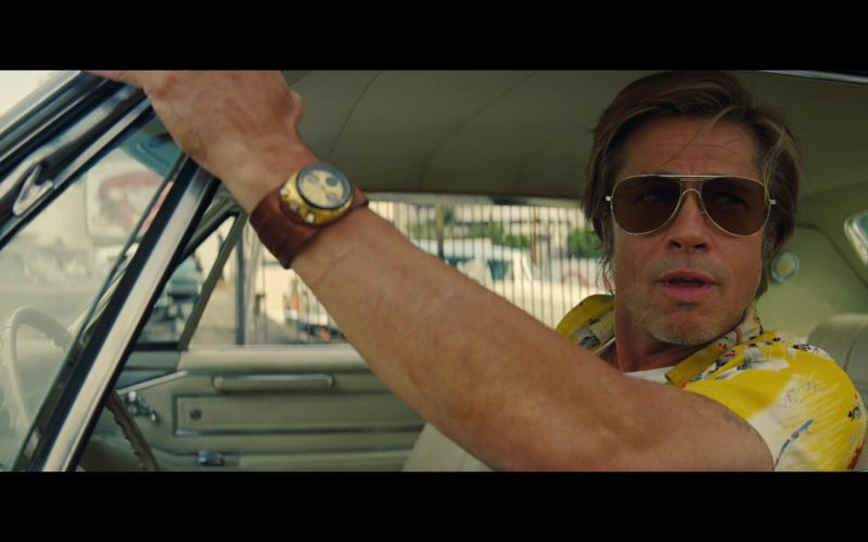 Citizen Watch (8110 Bullhead) Worn by Brad Pitt as Cliff Booth in Once Upon a Time … in Hollywood (1)