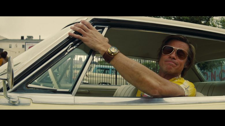 Citizen Watch (8110 Bullhead) Worn by Brad Pitt as Cliff Booth in Once Upon a Time ... in Hollywood (2019) - Movie Product Placement