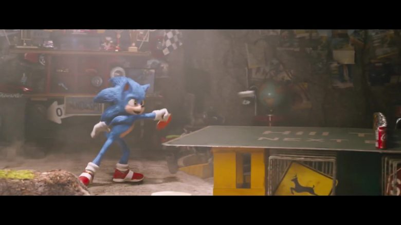 Coca-Cola Can in Sonic the Hedgehog (2020) - Movie Product Placement