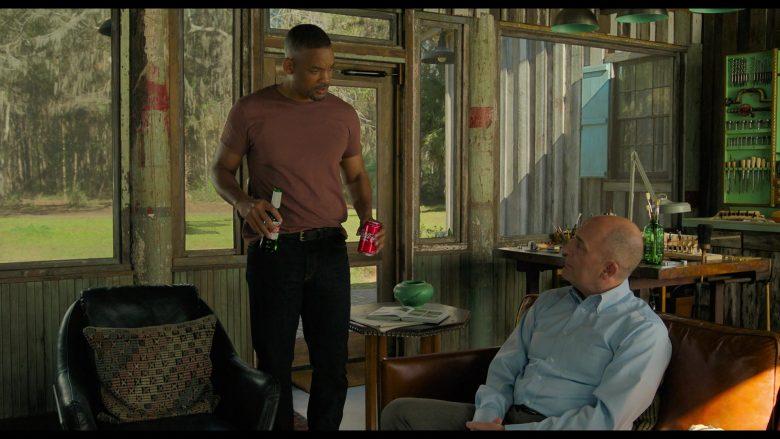 Coca-Cola Soda and Stella Artois Beer in Gemini Man (2019) Movie
