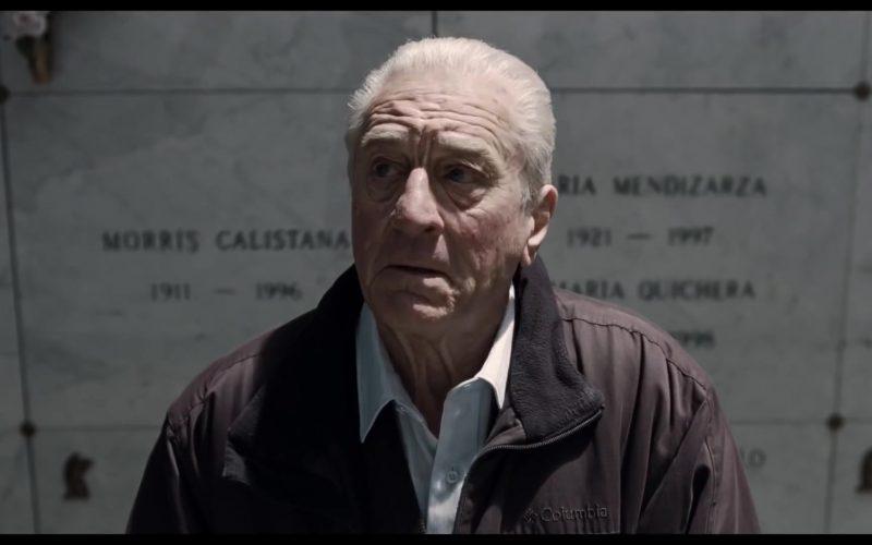 Columbia Jacket Worn by Robert De Niro in The Irishman (2019) Netflix Movie