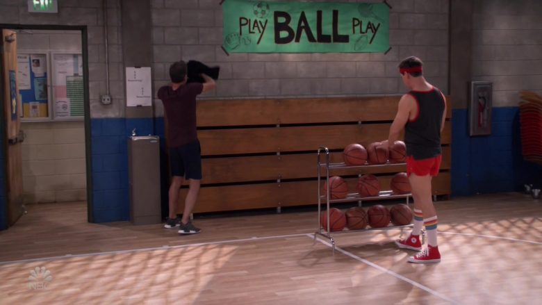 Converse Red Shoes Worn by Sean Hayes as Jack McFarland in Will & Grace (1)