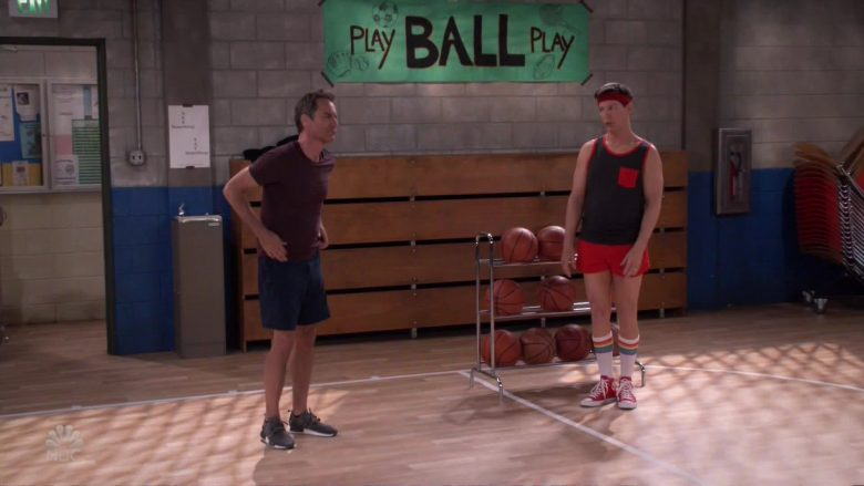 Converse Red Shoes Worn by Sean Hayes as Jack McFarland in Will & Grace (2)