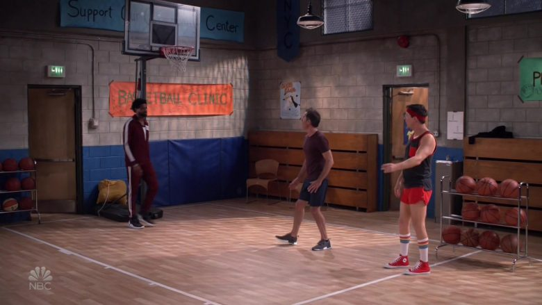 Converse Red Shoes Worn by Sean Hayes as Jack McFarland in Will & Grace (3)