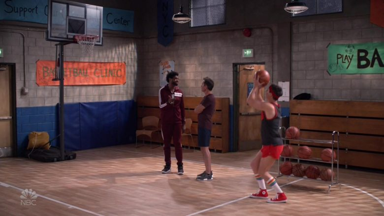 Converse Red Shoes Worn by Sean Hayes as Jack McFarland in Will & Grace (4)