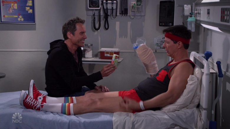Converse Red Shoes Worn by Sean Hayes as Jack McFarland in Will & Grace (6)