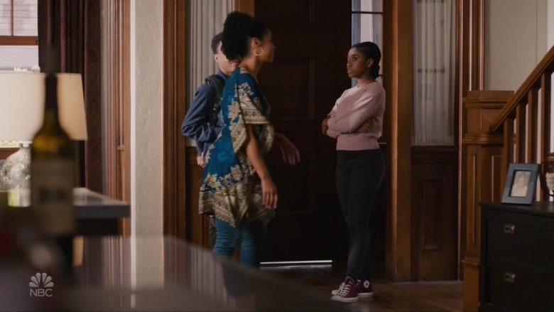 Converse Shoes Worn by Lyric Ross as Deja in This Is Us Season 4 Episode 8 Sorry