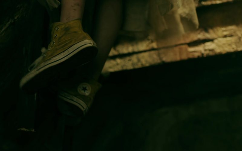 Converse Yellow Shoes Worn by Samara Weaving in Ready or Not (1)
