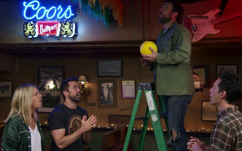 Coors Banquet Beer Neon Sign in It's Always Sunny in Philadelphia Season 14 Episode 8 (1)