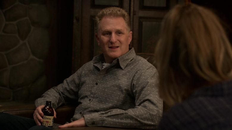 "Coors Beer Enjoyed by Michael Rapaport as Doug Gardner in Atypical Season 3 Episode 9 ""Sam Takes a Walk"" (2019) - TV Show Product Placement"
