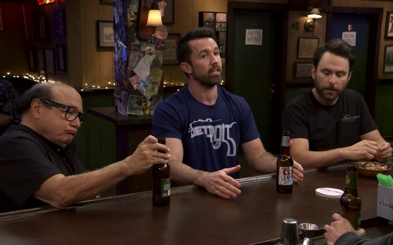 Coors Light Beer Enjoyed by Rob McElhenney as Mac in It's Always Sunny in Philadelphia Season 14 Episode 9 (1)