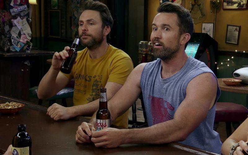 Coors Light Beer in It's Always Sunny in Philadelphia Season 14 Episode 7 (2)