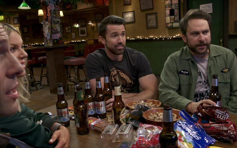 Coors Light Bottles and Bonart Sweeties in It's Always Sunny in Philadelphia Season 14 Episode 8