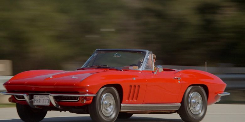 Corvette Red Convertible Car in For All Mankind Season 1 Episode 3 (1)