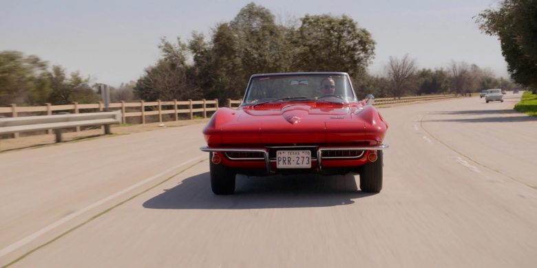 Corvette Red Convertible Car in For All Mankind Season 1 Episode 3 (2)