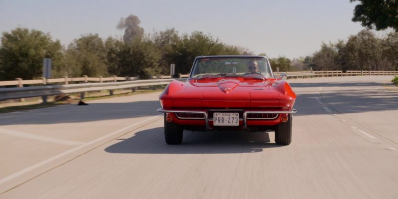 Corvette Red Convertible Car in For All Mankind Season 1 Episode 3 (3)
