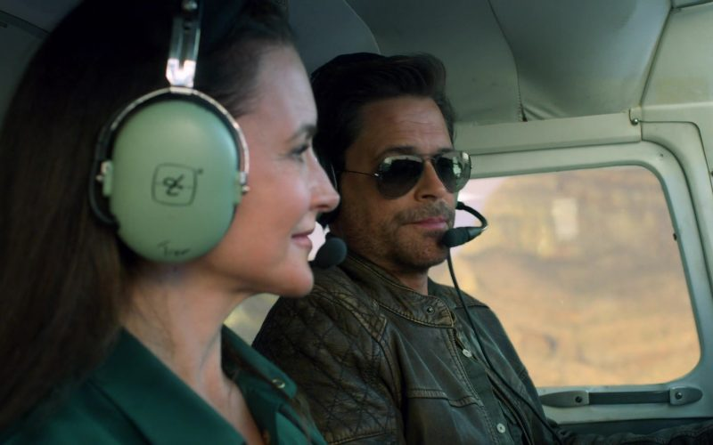 David Clark Headset Used by Kristin Davis in Holiday in the Wild