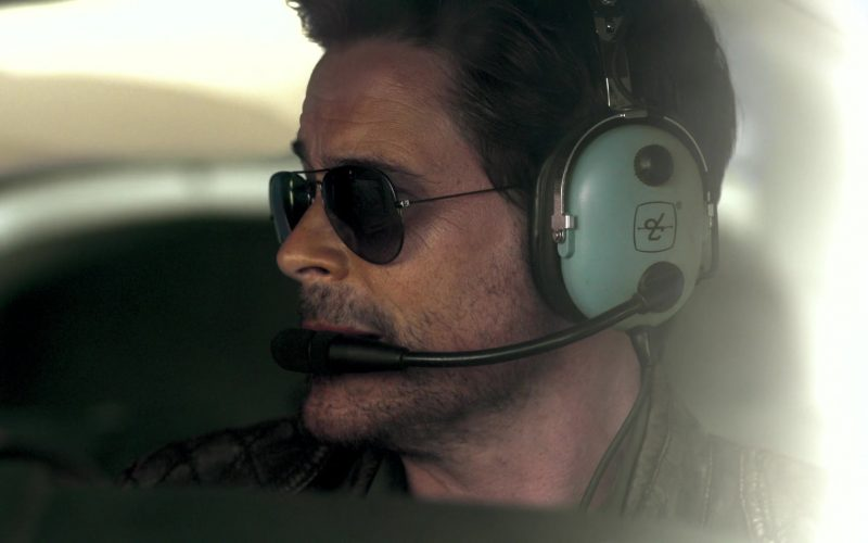 David Clark Headset Used by Rob Lowe in Holiday in the Wild (2)