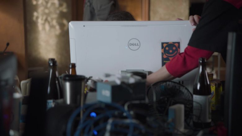 Dell All-In-One White Computer Held by Jimmy O. Yang as Jian-Yang in Silicon Valley Season 6 Episode 3 (1)