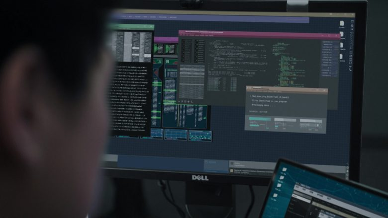 "Dell Monitors in FBI Season 2 Episode 6 ""Outsider"" (2019) - TV Show Product Placement"