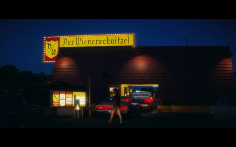 Der Wienerschnitzel Fast Food Restaurant in Once Upon a Time … in Hollywood