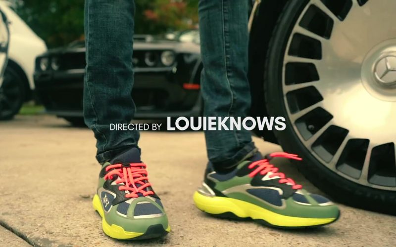 Dior Sneakers Worn by NBA YoungBoy in Lost Motives (1)