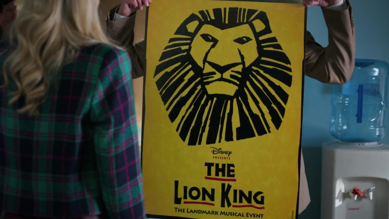 "Disney The Lion King Poster in Schooled Season 2 Episode 7 ""Hakuna Matata"" (2019) TV Show"