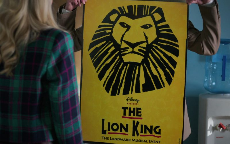 Disney The Lion King Poster in Schooled Season 2 Episode 7 Hakuna Matata (1)