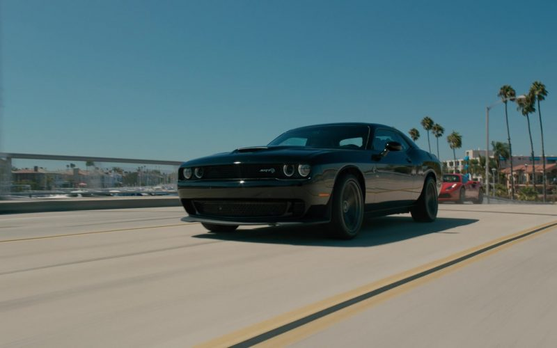 Dodge Challenger SRT Black Car in NCIS Los Angeles Season 11 Episode 7 (1)