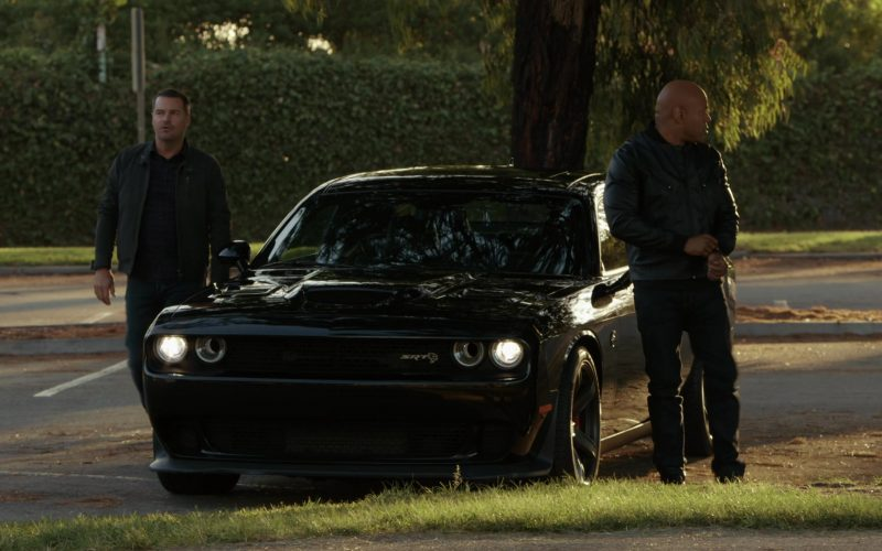 Dodge Challenger SRT Black Car in NCIS Los Angeles Season 11 Episode 8